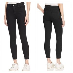 J Brand Alana Crop High Rise Jeans in Vanity